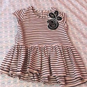 Marmellata Classics Striped Shirt.Girl's Size 6